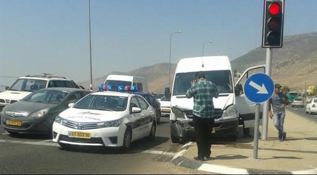 6 إصابات بحادثين منفصلين في مفرق الرامة