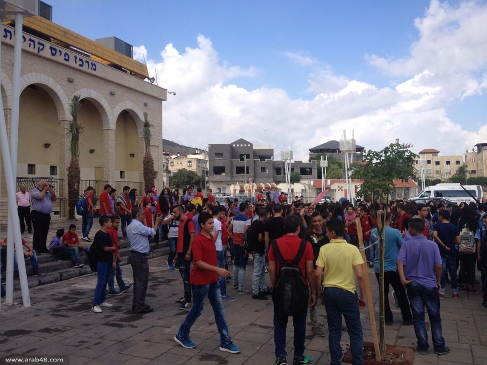 سخنين: مسيرات طلابية تجوب الشوارع نصرة للقدس والأقصى