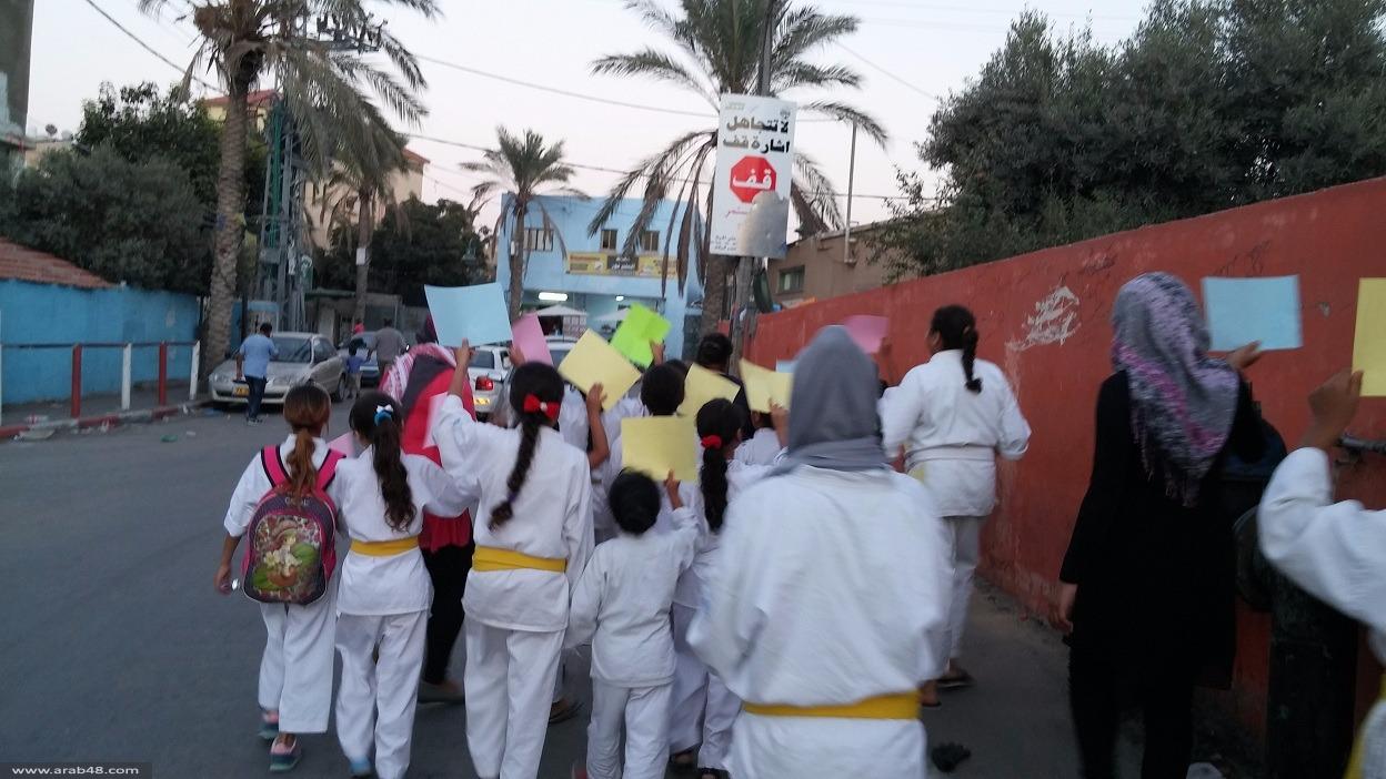 جسر الزرقاء: بسملة تنظم مسيرة نصرة للأقصى