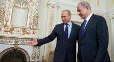 نتنياهو لبوتين: هدف زيارتي الحفاظ على الاستقرار في الجبهة الشمالية