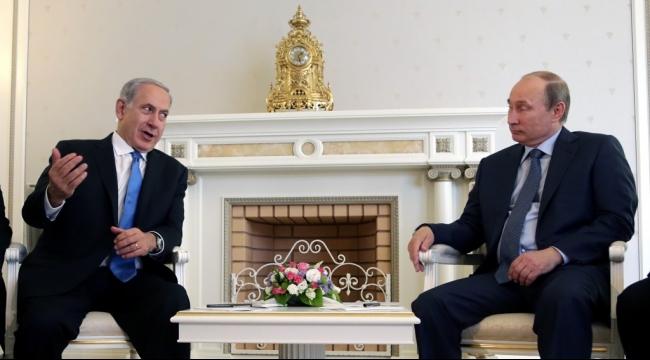 نتنياهو سيعرض على بوتين مواد استخباراتية مقابل حفظ أمن إسرائيل