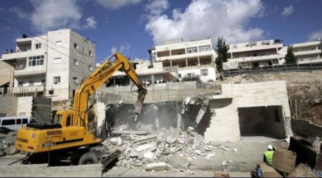 القدس: الاحتلال يهدم منزل بحي راس العامود في سلوان