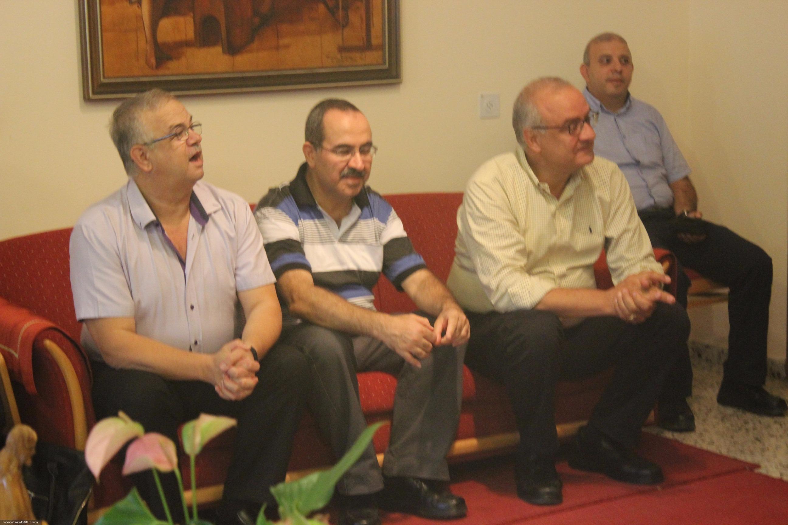 الناصرة: وفد من المدارس الأهلية يثني على مواقف ماركوتسو