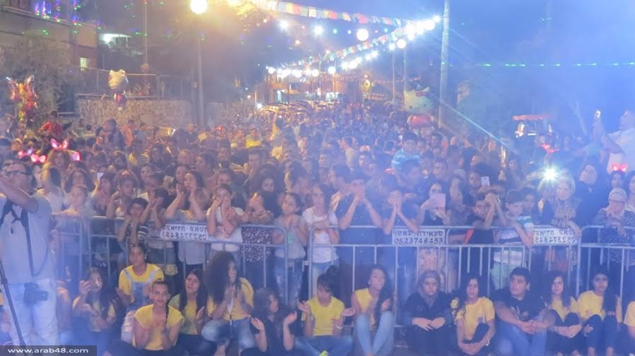 آلاف الشفاعمرويين في احتفالات عيد الأضحى التي نظمتها البلدية
