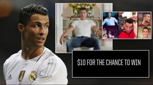 فيديو، رونالدو يعلن عن مفاجأة للمتبرعين للفقراء