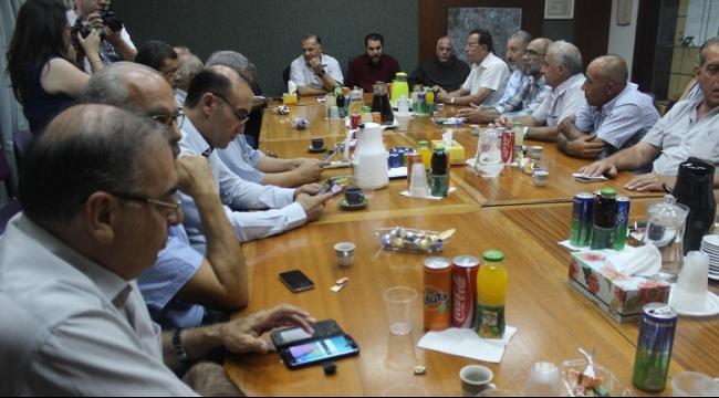 الناصرة: إدارة البلدية ورجال الدين يجتمعون عشية العيد