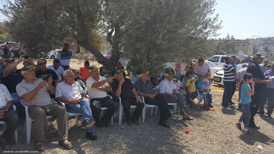 شفاعمرو: رفع أكبر قبة في البلاد وسط أجواء احتفالية