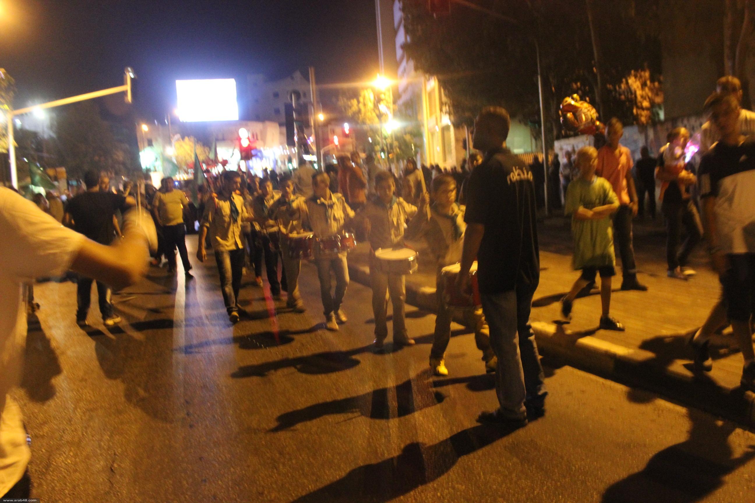 النّاصرة: مسيرة كشفيّة احتفالاً بعيد الأضحى