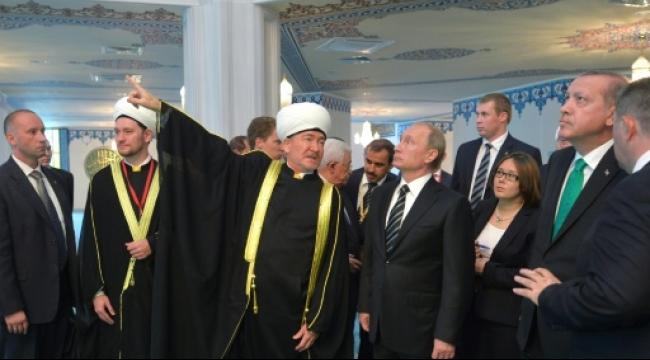 بحضور عباس وأردوغان.. بوتين يفتتح أكبر مسجد في موسكو