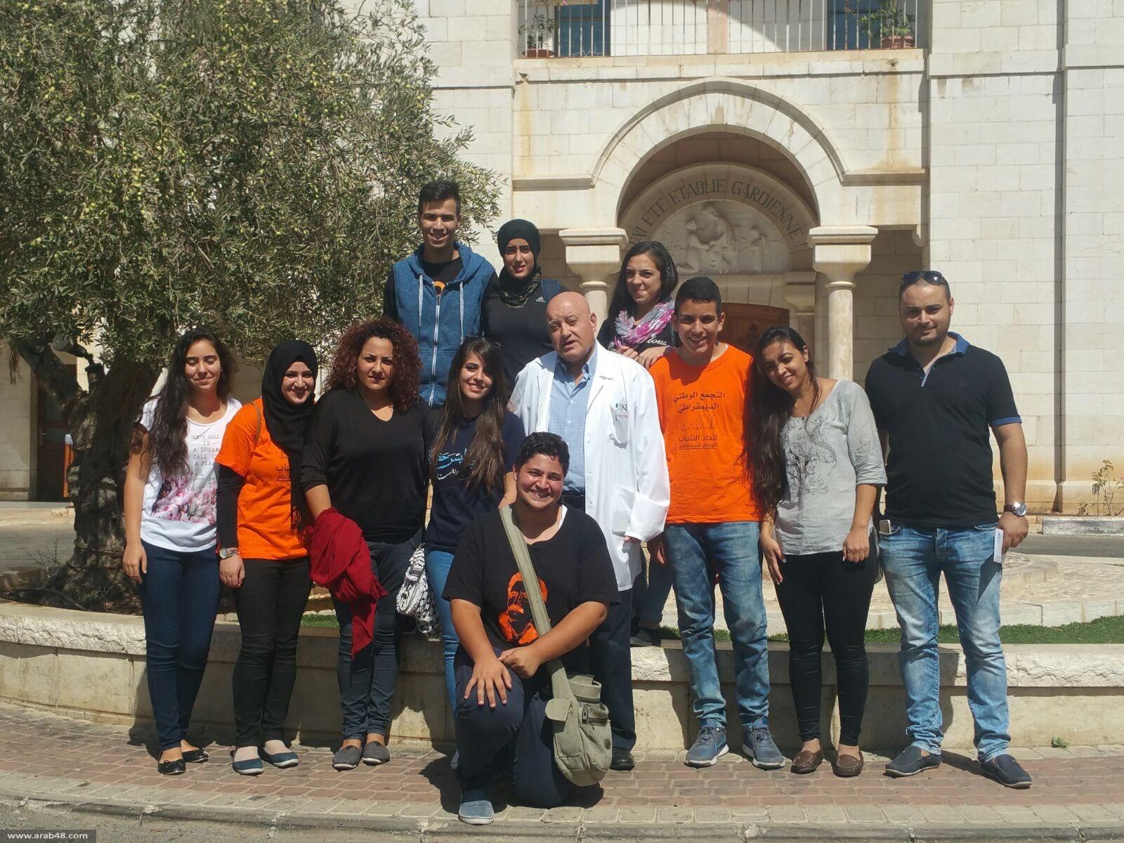 الناصرة: شبيبة التجمع تزور عائلات شهداء هبة القدس والأقصى