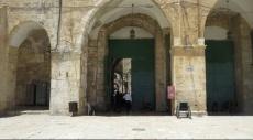 القدس: إغلاق معظم بوابات الحرم واستمرار حملة الاعتقالات
