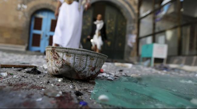 اليمن: 25 قتيلا في هجوم على مسجد في صنعاء