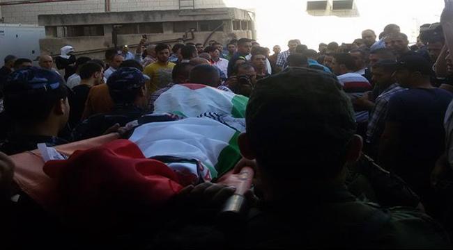 بيت فوريك: تشييع جثمان الشهيد أحمد خطاطبة