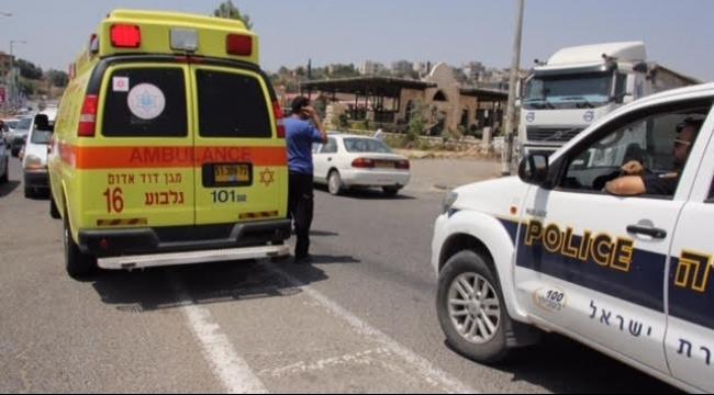 إصابة بالغة الخطورة لسائق سيارة من مجد الكروم إثر حادث سير ذاتي