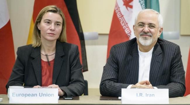 ظريف وموغيريني يتفقان على التعاون لإنهاء الحرب في سوريا