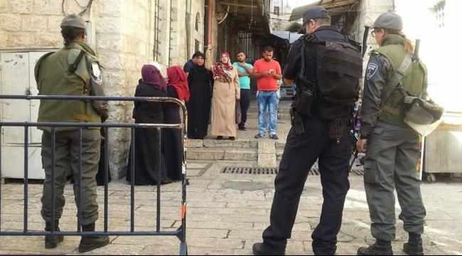 أوامر إبعاد بالجملة عن القدس والأقصى لشبان من فلسطينيي 48