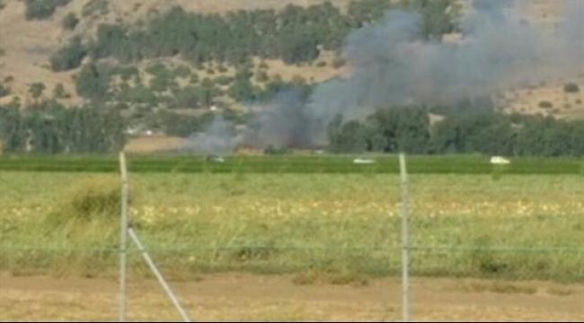 الجولان: سقوط قذيفة صاروخية أطلقت من سوريا