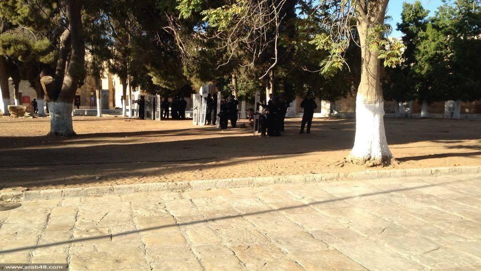 """""""يوم النفير والرباط"""" في الأقصى... ومواجهات مع الاحتلال"""