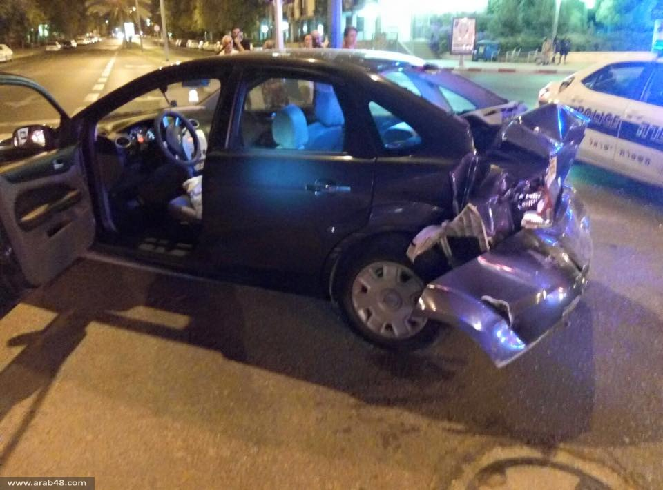 بئر السبع: 6 جرحى جراء مطاردة الشرطة لسيارة