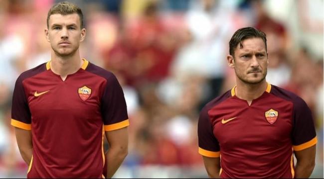 الإصابة تبعد توتي ودزيكو عن روما لمدة شهر
