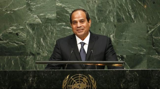 السيسي يدعو لاتفاق سلام بين إسرائيل ودول عربية
