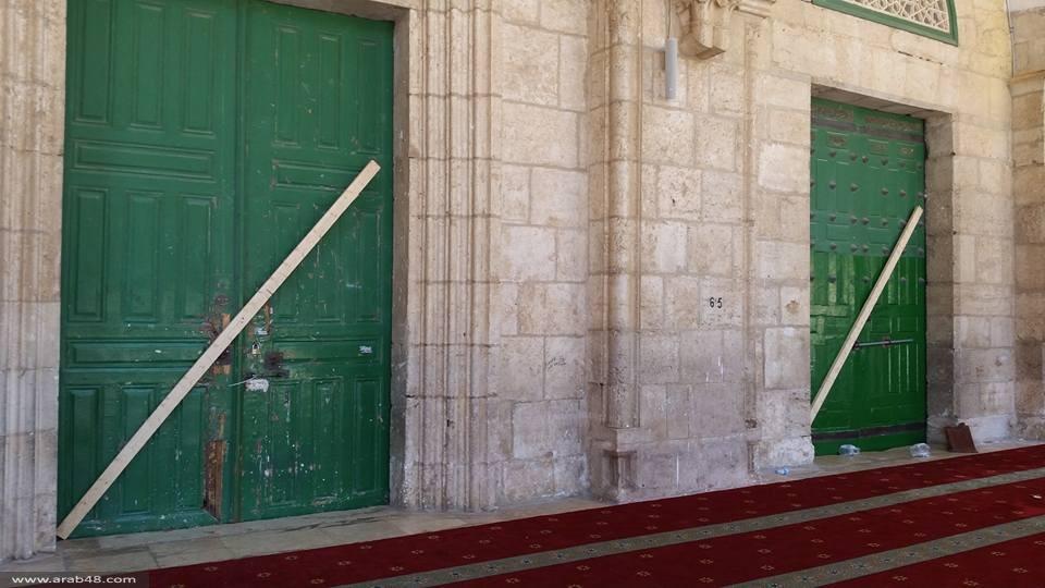 القدس: الاحتلال يخلف دمارا بعد اعتدائه الإرهابي على الأقصى