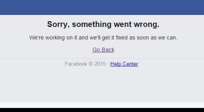 خلل في فيسبوك للمرة الثانية خلال أقل من أسبوع