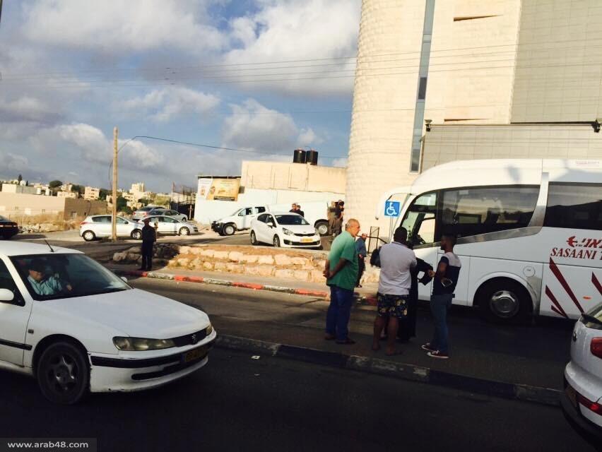 شفاعمرو: اعتراض حافلة مصلين كانت متجهة للأقصى