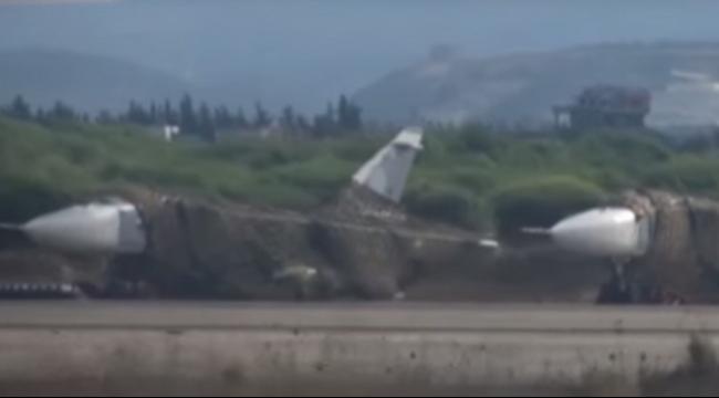 سورية: توثيق لطائرات روسية في اللاذقية