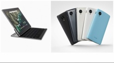جوجل تعلن عن هاتف ذكي وحاسب لوحي جديدين