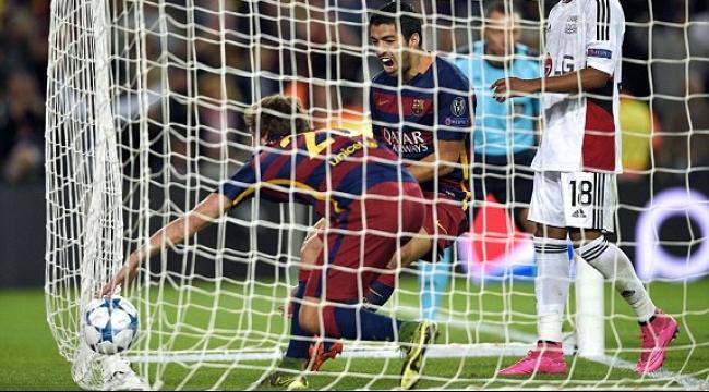 برشلونة يتخطى باير ليفركوزن في ظرف دقيقتين