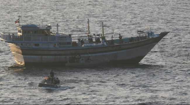 التحالف العربي يعلن ضبط زورق إيراني يحمل أسلحة