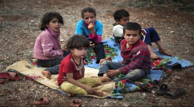 أطفال اللاجئين السوريين يحلمون بالذهاب إلى المدرسة