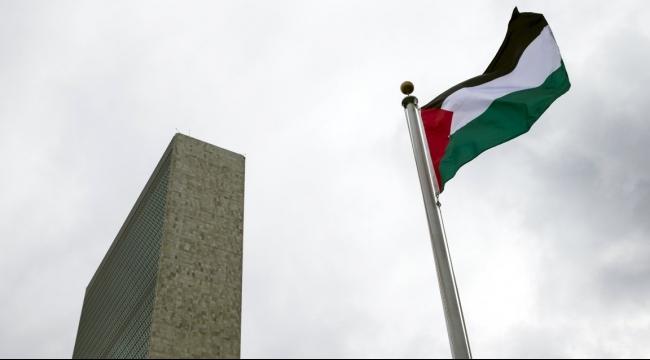 رفع العلم الفلسطيني لأول مرة في الامم المتحدة