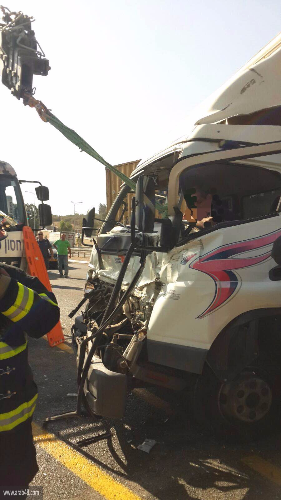 حيفا: إصابتان جراء حادث طرق