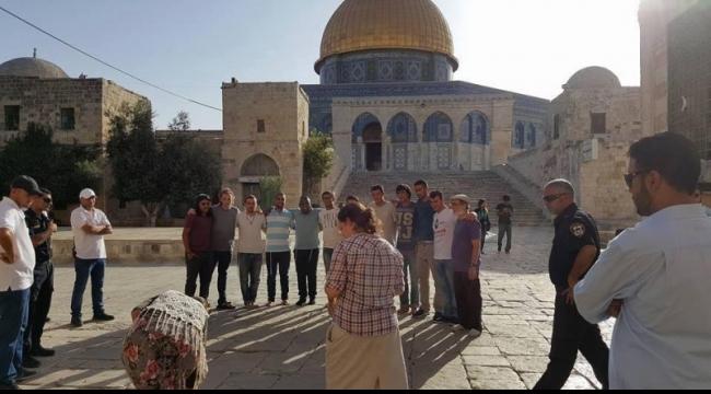 القدس: المستوطنون يواصلون اقتحام الأقصى