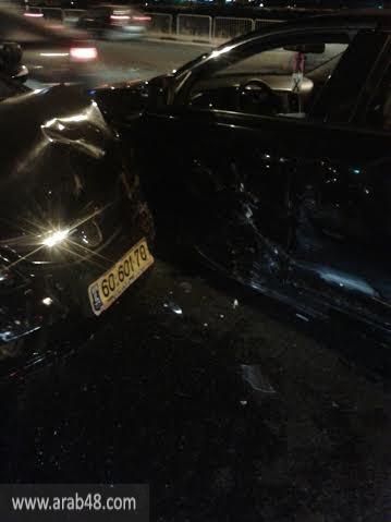 3 إصابات في حادث طرق في مفرق البعنة - دير الأسد