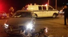 خمس إصابات في حادث طرق على مفترق عبلين