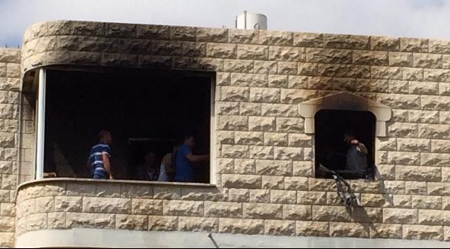 عبلين: حريق في شقة سكنية وإصابة مواطن