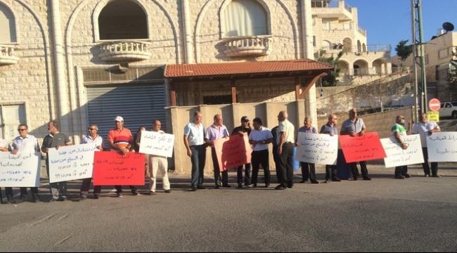 أم الفحم: اللجنة الشعبية تتظاهر ضد سياسة الشرطة