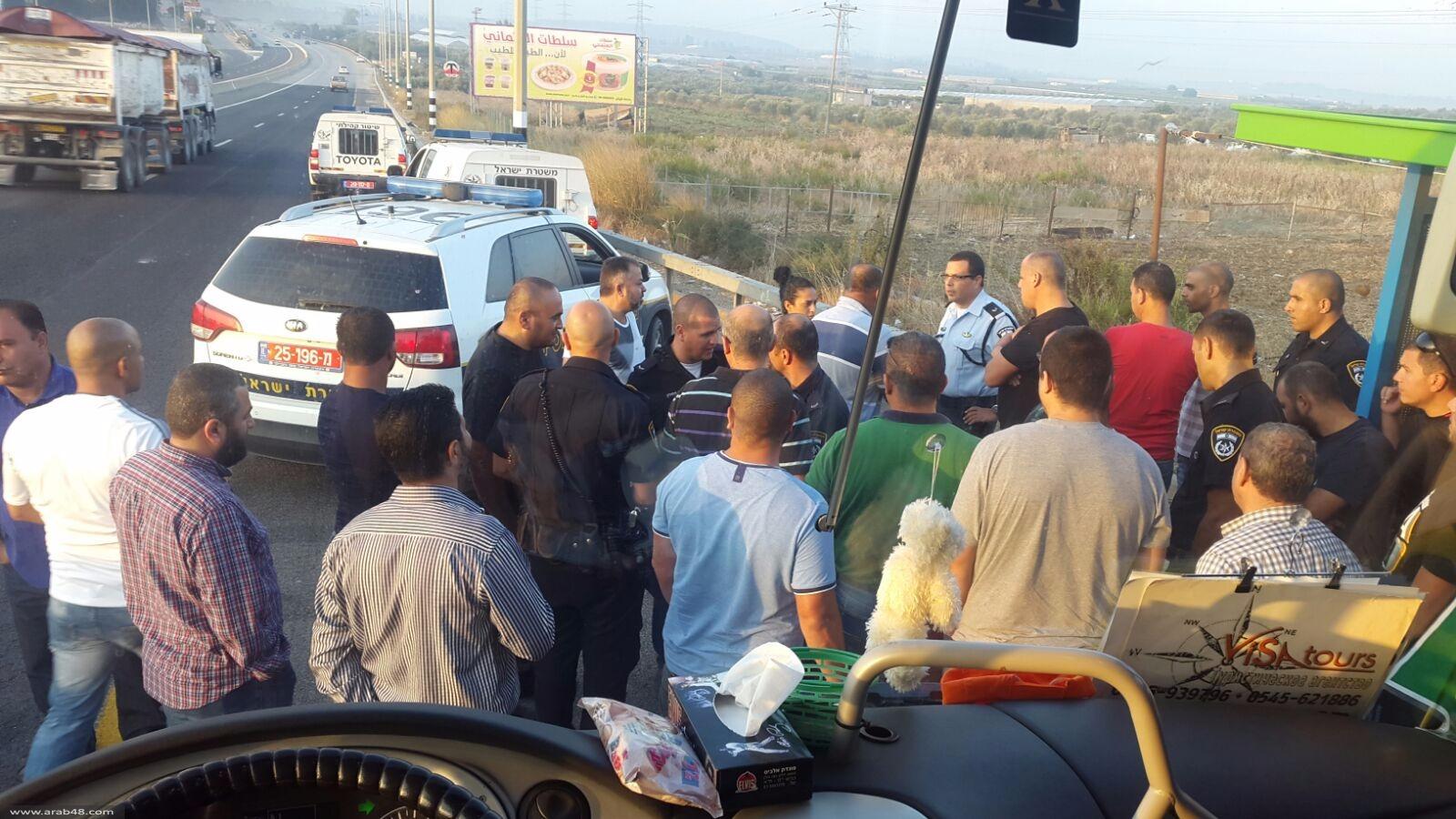 طمرة: الشرطة تعترض حافلة مصلين متجهة للأقصى