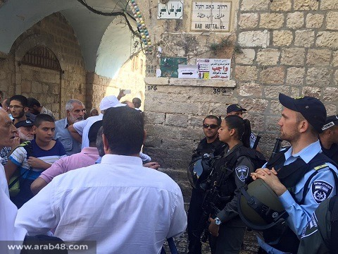 """عبد الفتاح من القدس لـ""""عرب 48"""": نقترب من نقطة تحول مصيرية"""