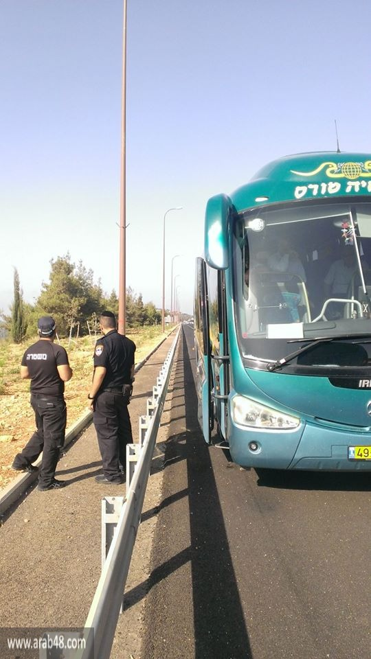 عارة وعرعرة: الشرطة تعترض الحافلات المتجهة للأقصى