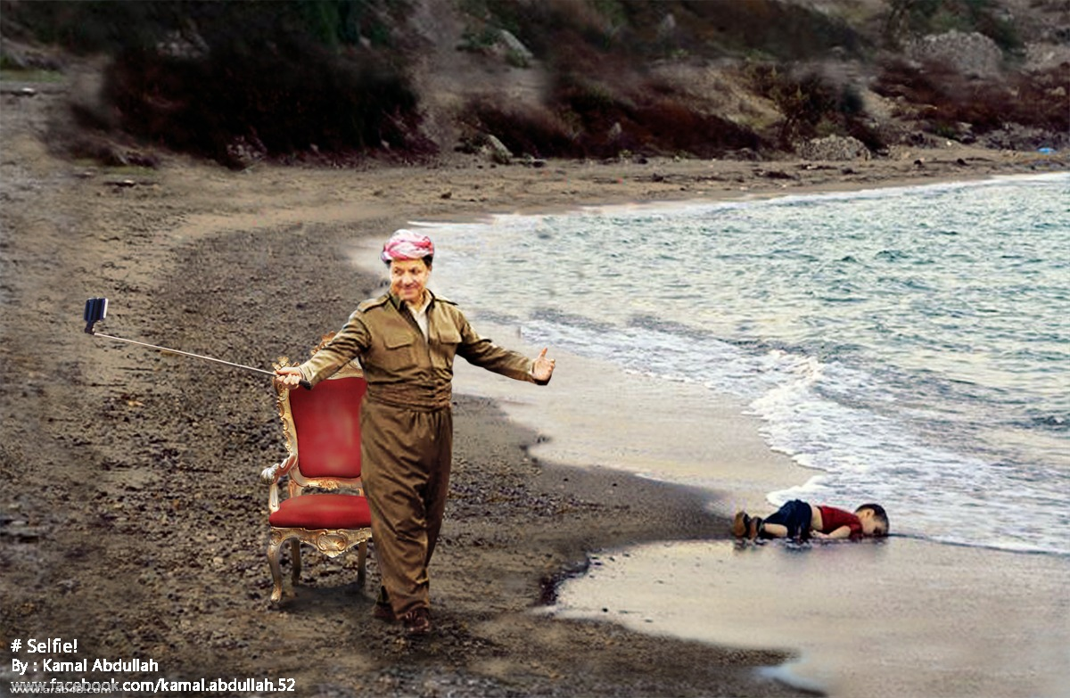 سيلفي لزعماء العالم وأزمة اللاجئين السوريين!