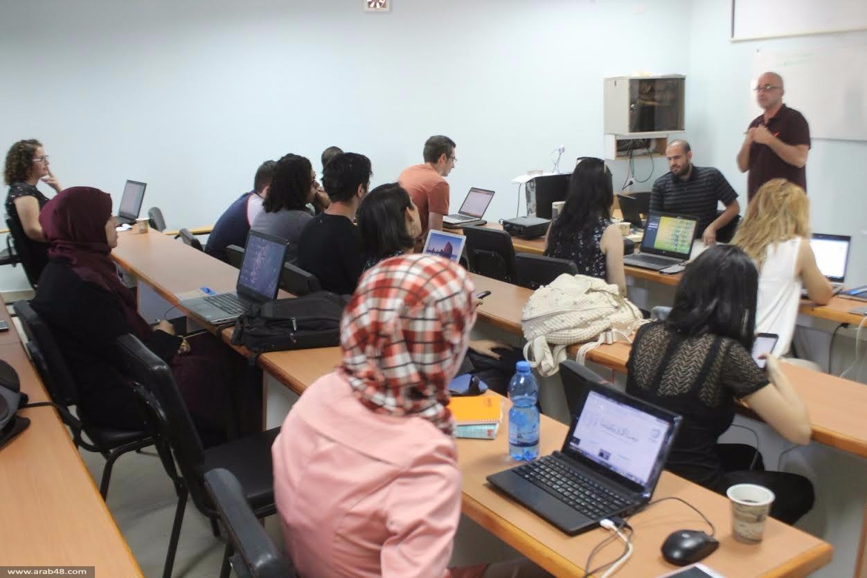 ورشة لإثراء المحتوى الفلسطيني في ويكيبيديا بجامعة بير زيت