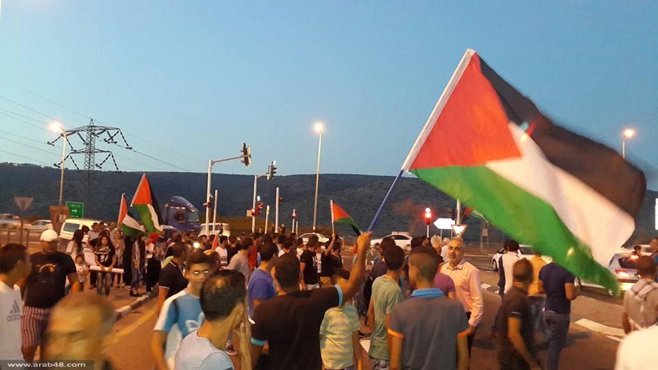 كفركنا والمشهد: تظاهرة نصرة للقدس والأقصى تتحول إلى مسيرة