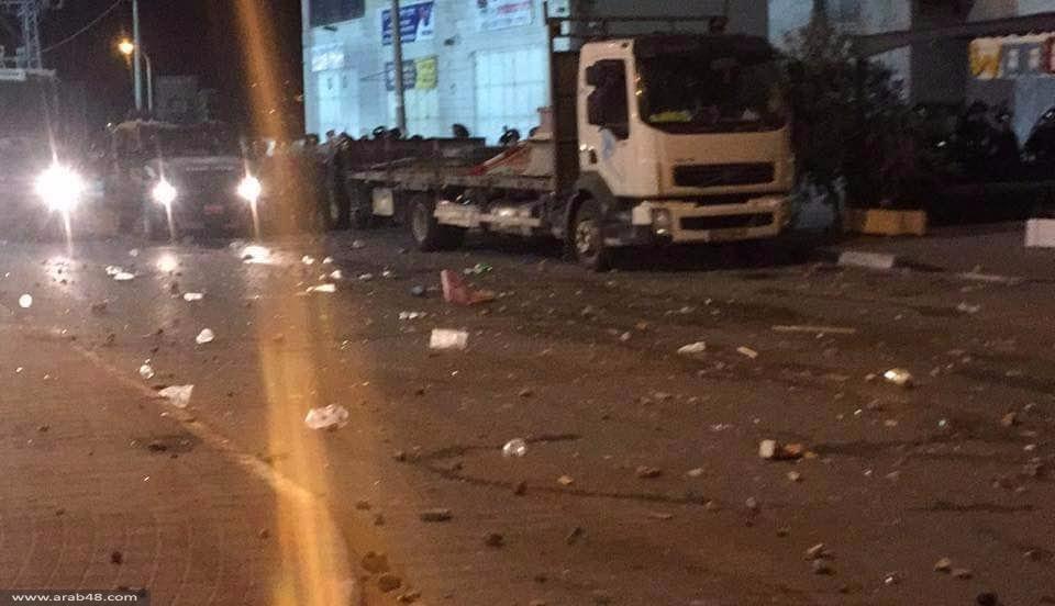 اشتباكات عنيفة مع الشرطة في محيط استاد الدوحة