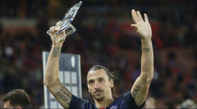 زلاتان إبراهيموفيتش يحصد لقب هداف باريس سان جيرمان
