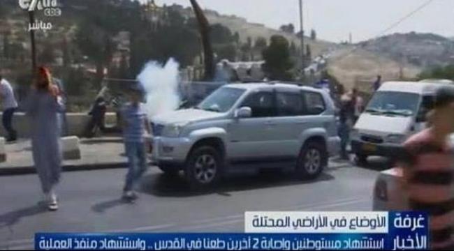"""""""سي بي سي"""" المصرية تصف قتلى المستوطنين بالشهداء"""