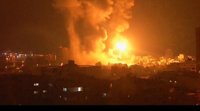 الاحتلال يشن غارة جوية على موقع للقسام في غزة